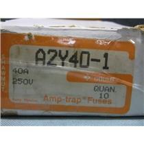 New Shawmut A2Y40-1 Amp-trap Fuses 40A 250V Type 1