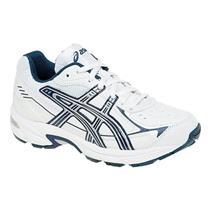 Asics Gel 150 TR GS Navy Silver Junior 1.5 Shoes NIB