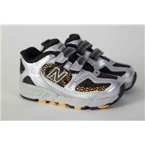 New Balance 630 Toddler Shoes 6 Black Yellow Silver NIB