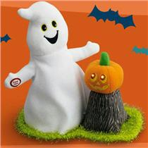 Hallmark Halloween Techno Plush 2012 Ghostly Singing Duo - #LPR2337