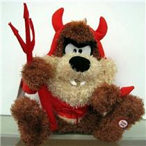 Hallmark Hungy Little Devil Taz Halloween Techno Plush Looney Tunes HGN5027
