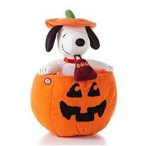 Hallmark Halloween Techno Plush 2013 Peek-a-Boo Snoopy - Peanuts Gang - #HGN5113