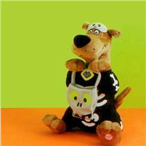 Hallmark Halloween Techno Plush 2010 Scooby Doo Skeleton - #HHP2052