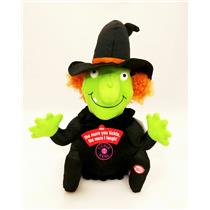 Hallmark Halloween Techno Plush 2011 Totally Ticklish Witch - #HGN5017
