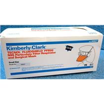 *35pc/BOX* KIMBERLY CLARK 46827 TECHNOL FLUIDSHIELD PFR95 N95 PARTICULATE FILTE
