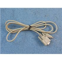 6' DB9 Female to 8 Pin Mini DIN Male Adapter Cable