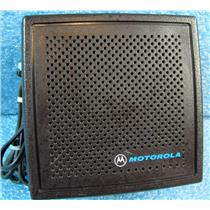 MOTOROLA HSN6001B SPEAKER FOR 2-WAY RADIO CAR/DESK/ETC INSTALL - USED w/GUARANT