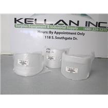 """Interspiro Spiromatic 460190351 SCBA Face Lens / Visors 9""""x 5"""" -  3 Pack"""