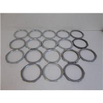 """**Lot of 18**  4"""" Stainless Steel Lock Nuts"""