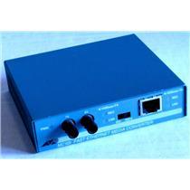 ALLIED TELESYN TELESIS AT-MC101 MEDIA CONVERTER, 100TX TO 100FX/ST