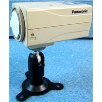 #1 PANASONIC WV-BP144 CCTV VIDEO CAMERA, SURVEILLANCE SECURITY CAMERA, NO LENS,