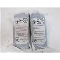 DOTTIE LHD-1  Two (2) Bags of New  Duct Seal Compound   1-lb Bags =  2 bags TTL