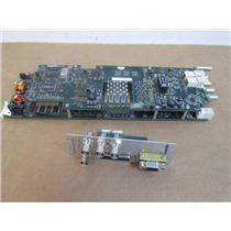 Evertz 7765AVM-4A-VGA Card with Digital Audio Monitoring and Rear Module