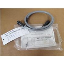BOC Edwards High Vacuum Pump Gate Valve and Cable Connector Assembly 4 ft.