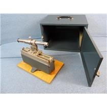 Central Scientific / Gaertner Micrometer Slide Microscope W/ Metal Case