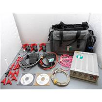 Reliable Power Meters Model 1500 W/Case, Three Voltage Clamps, And Accessories