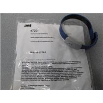 3M 4720 Dual Conductor Wristband Adjustable Thermoplastic Blue QTY 20