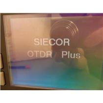 Siecor OTDR Plus Multimeter Model 383-SD54 Options VFL/PM/CW