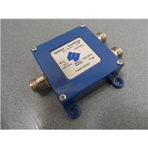 Wilson Cellular P/N 859922 Splitter / Combiner 800 / 1900 MHz