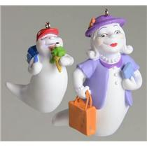 Hallmark Ornament 2005 Grandma Tillie and Willie - Hauntington USA - QFO6335-SDB
