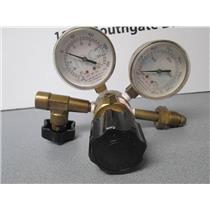 Airco 054-11022 (4000-PSI) & 054-40032 (30-PSI) Rare and Specialty Gasses Gauge