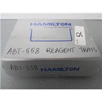 Hamilton ABT558 Self Standing Reagent Container 120ML 3 Wave Breakers QTY 5