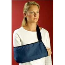 Med Spec 183262 Padded Blue Arm Sling Size Small Hook n Loop Closure