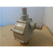 "Siebec Pump Head Model Unknown Approximately 3/4"" ID Inlet & Outlet"