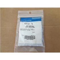 (50) T&B TV14-12PT Vinyl Insulated Pin Terminals, Wire Range 16-14 Thomas Bettes