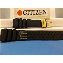 Citizen Watch Band Aqualand 24mm  Reg/Feet Gold Tone Buckle Original Model Strap