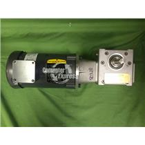 Baldor Motor 1 HP Cat. No VM3546 208-230 Volts w/ Textron Transmission [54]