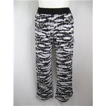 Modamix by Brandon Thomas Size 1X Rayon Animal Print Palazzo Pant