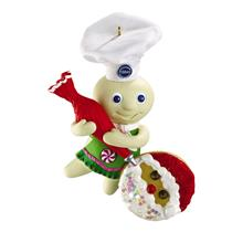 Carlton Magic Ornament 2011 Pillsbury Doughboy - Has Recipe Card - #CXOR111Z