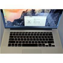 Apple MacBook Pro Retina ME293LL/A 128GB HDD 8GB AppleCare 11/2016 small dent !!