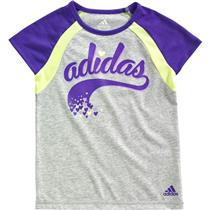 Adidas Girls' Sporty Raglan T-Shirt Size 4
