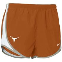 Girls' Nike Dri-Fit Running Shorts Texas Longhorns L