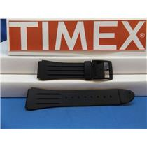 Timex Watch Band 1440 Sports Strap Black Resin Original Watchband