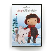 Hallmark Jingle All The Way Husky Pup Animated DVD Sealed FREE U.S. S/H #KOB9906