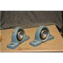 (LOT OF 2) Asahi UC209-27 Pillow Block Bearings