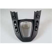 2005 Saturn Vue Shift Floor Trim Bezel with Door Window Switches and 12v Outlet