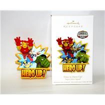 Hallmark Ornament 2011 Time To Hero Up - Super Hero Squad - #QXI2627