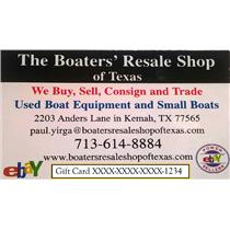 Boaters' Resale Shop Of Texas Gift Card