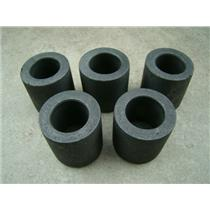 """Lot of 5 Graphite 2.5 oz Crucibles for Melting Gold-Silver- 1-3/16"""" W x 1-3/16"""""""