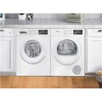 Bosch 300 Front Load Washer & Dryer set White + Stacking Kit Desciptions IMG