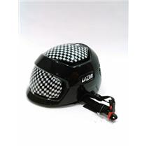 Lazer Krux Black/Checkered Bike Helmet Size XS New!