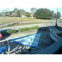 Boaters' Resale Shop of Tx 1511 1740.95 RF Jib w 34-8 luff Bludworth sailmakers