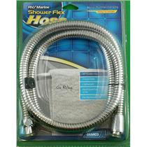"Camco 43716 RV Marine 60"" Chrome Flexible Shower Hose"