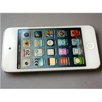APPLE iPod Touch 4th Gen 32GB White A1367 MD058LL/A Retina Display with USB Cord