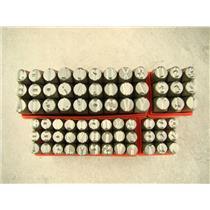 """1/2"""" & 3/8"""" Letter & Number Punch Stamp Set Metal-Steel-Hand A-Z *BIG SIZE*72Pcs"""