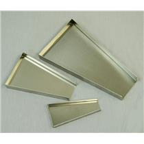 """""""Gold Rush"""" Set of 3 Gold Scale Trays - Mining - Lightweight Aluminum - Clean Up"""